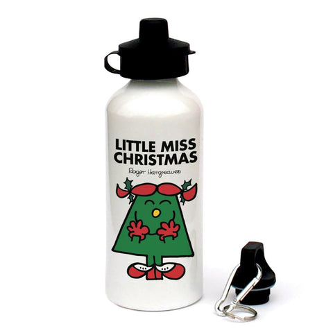 Little Miss Christmas Water Bottle