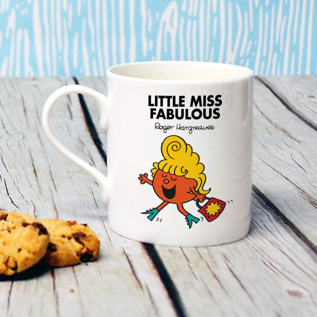 Little Miss Fabulous Bone China Mug (Lifestyle)