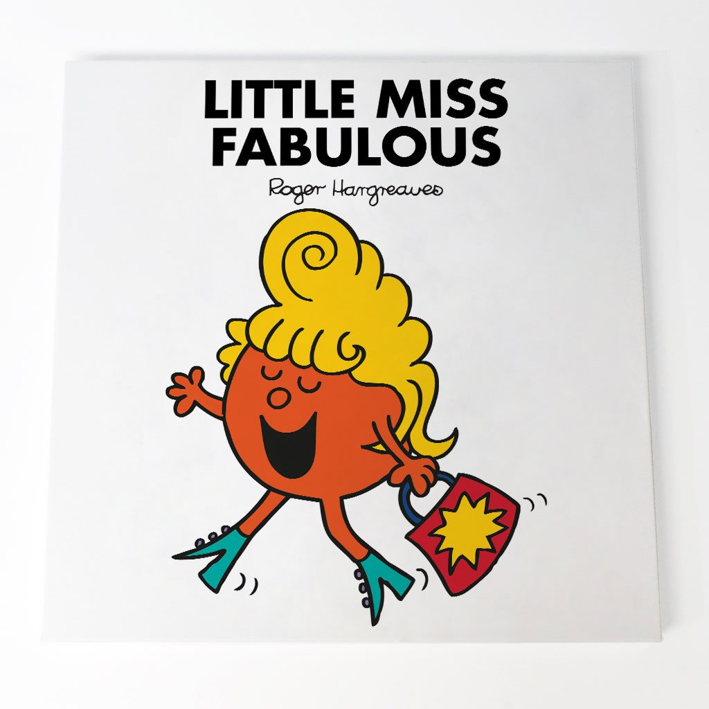 Little Miss Fabulous Canvas