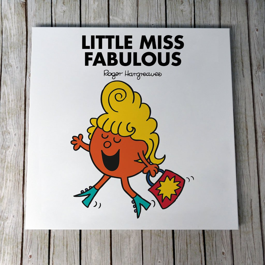 Little Miss Fabulous Canvas (Lifestyle)