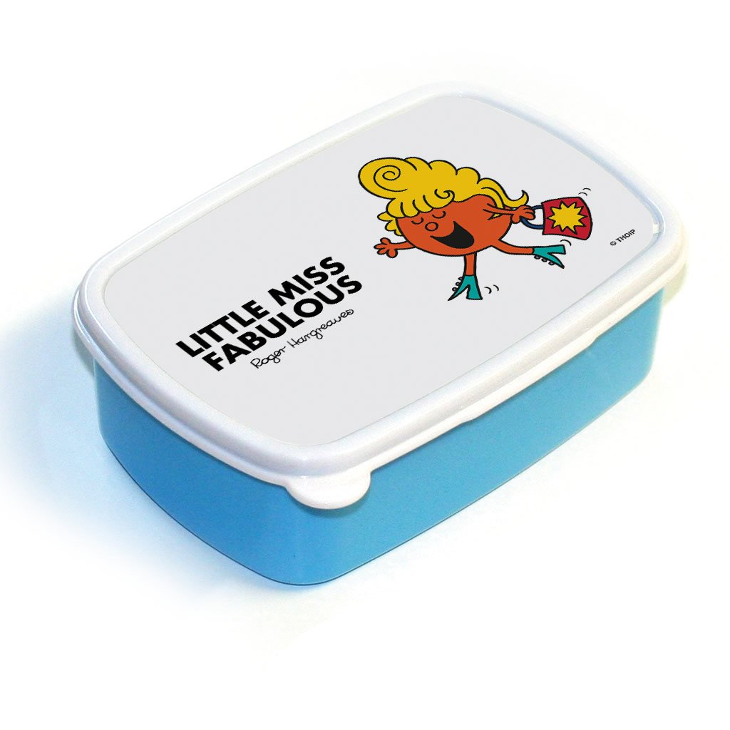 Little Miss Fabulous Lunchbox (Blue)