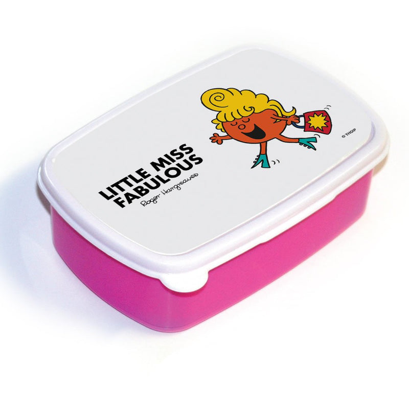 Little Miss Fabulous Lunchbox (Pink)