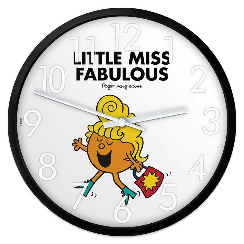 Little Miss Fabulous Personalised Clock