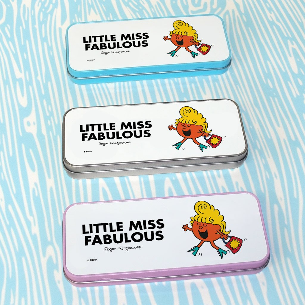 Little Miss Fabulous Pencil Case Tin (Lifestyle)