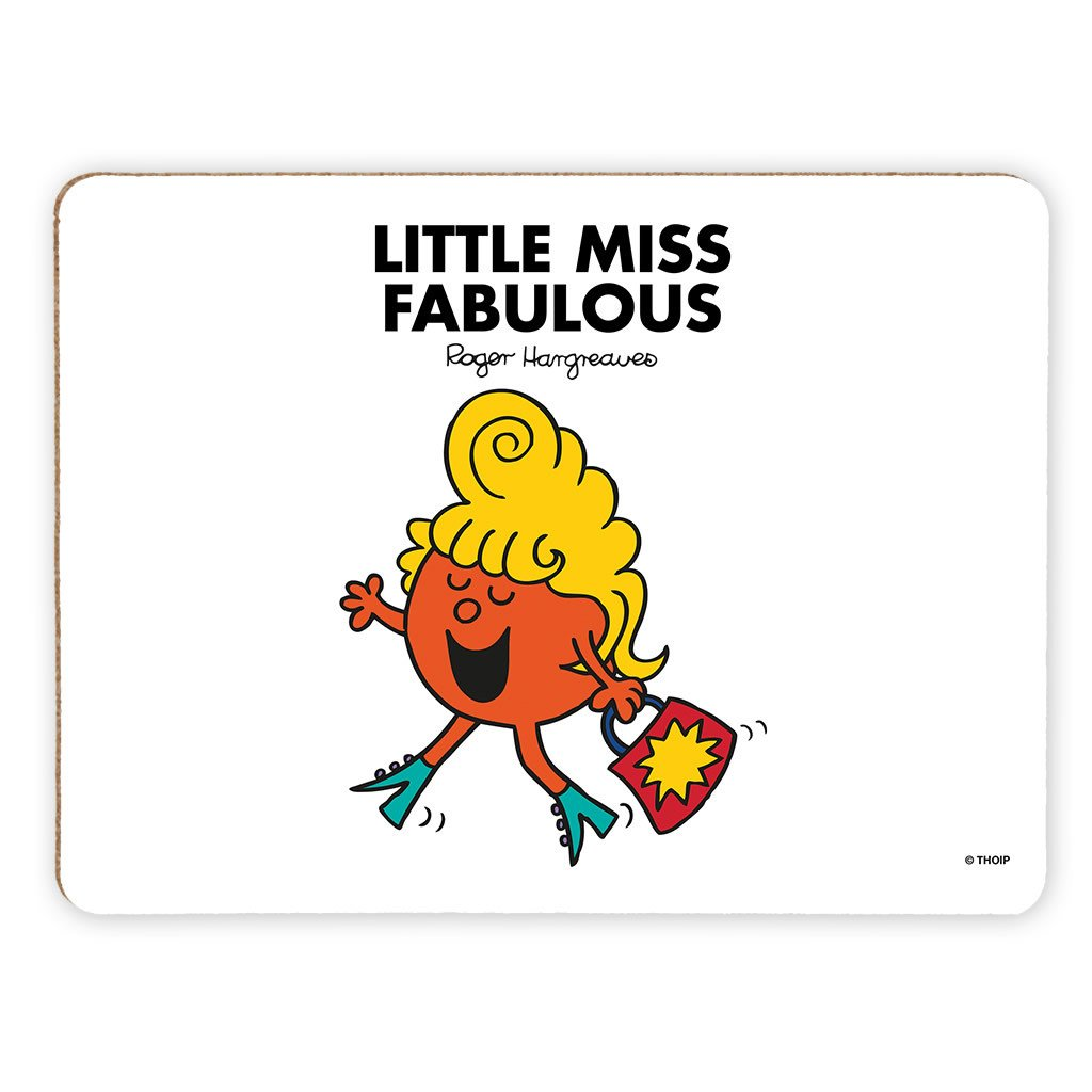 Little Miss Fabulous Cork Placemat