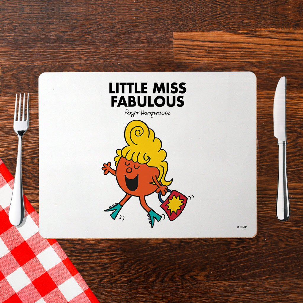 Little Miss Fabulous Cork Placemat (Lifestyle)