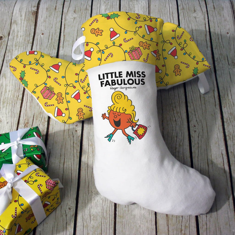 Little Miss Fabulous Christmas Stocking (Lifestyle)