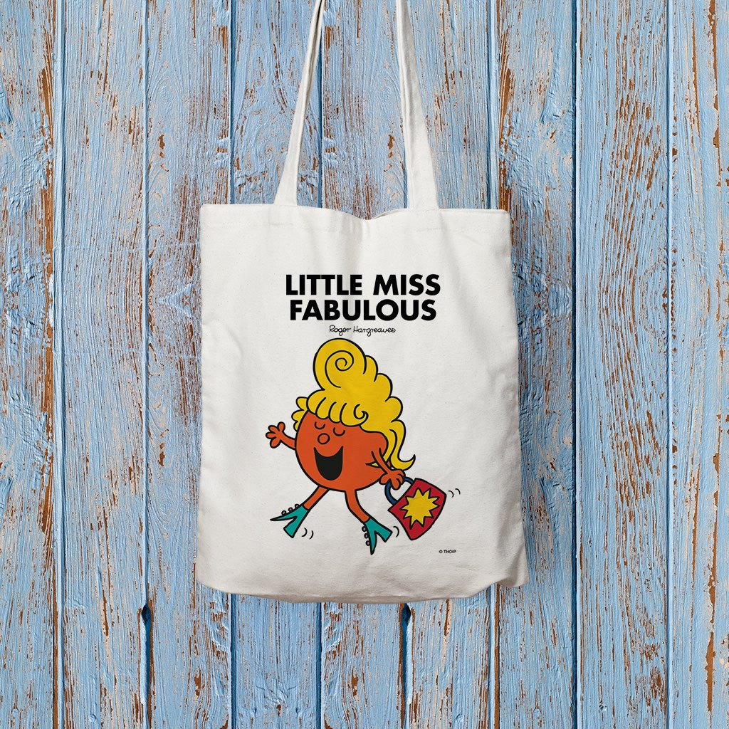 Little Miss Fabulous Long Handled Tote Bag (Lifestyle)