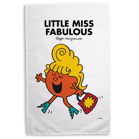 Little Miss Fabulous Tea Towel