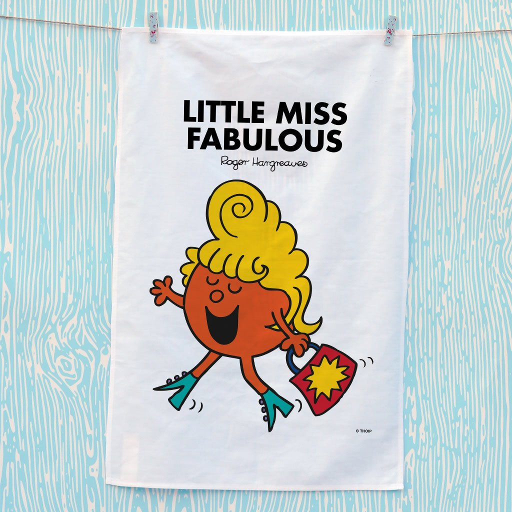 Little Miss Fabulous Tea Towel (Lifestyle)