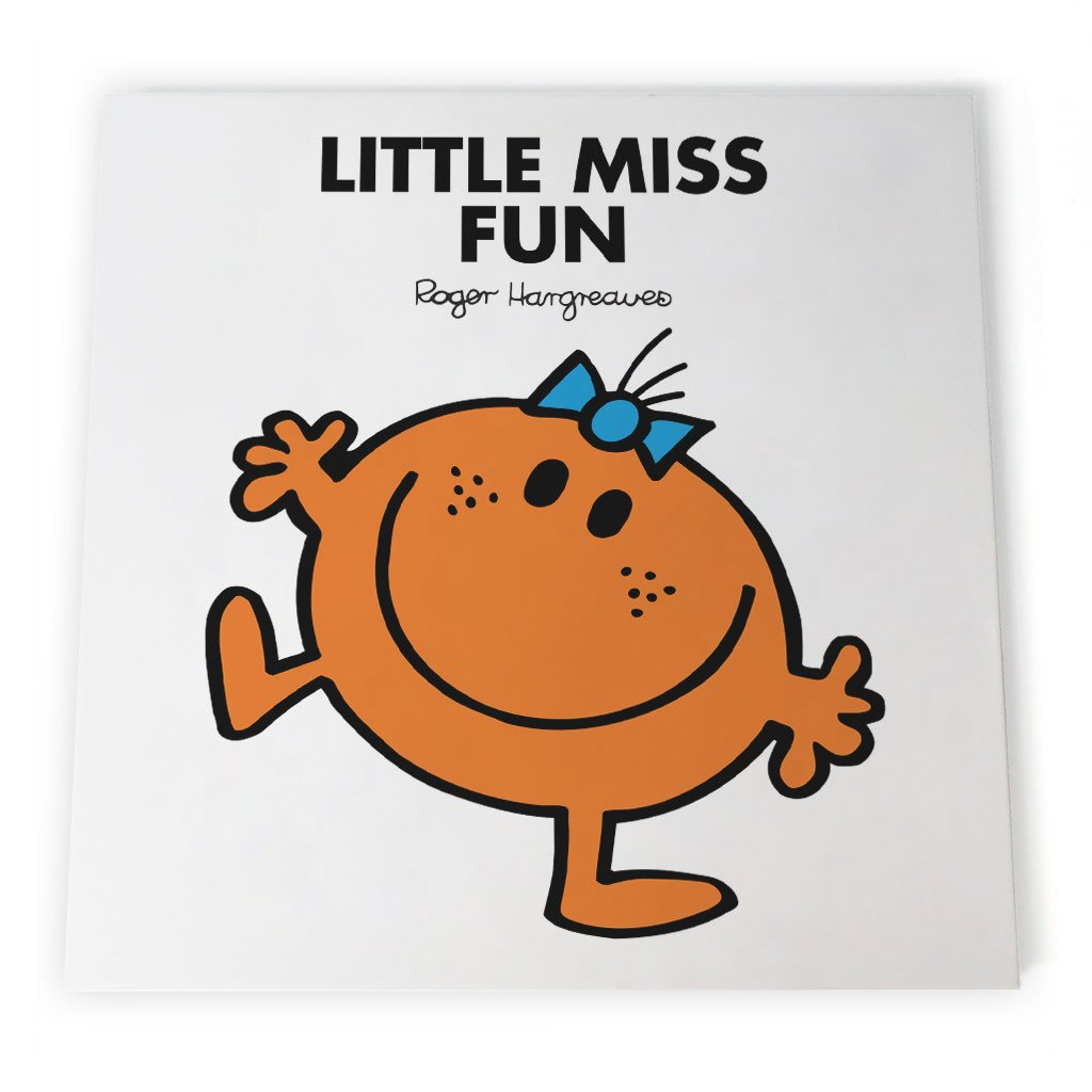Little Miss Fun Canvas