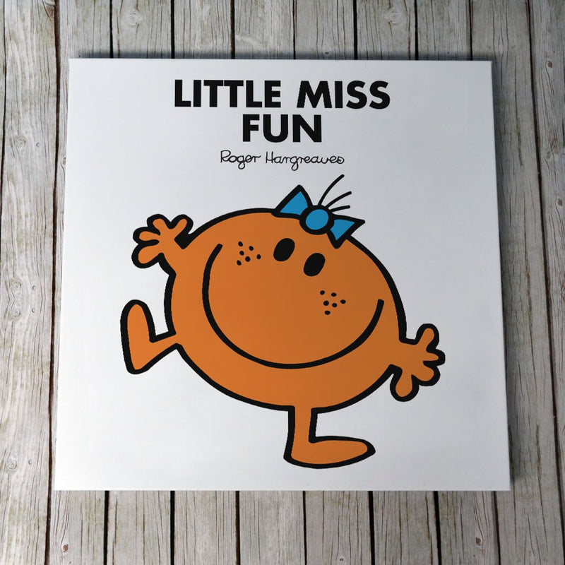 Little Miss Fun Canvas (Lifestyle)