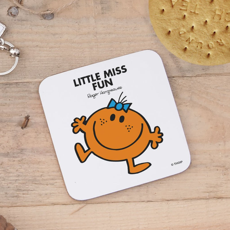Little Miss Fun Cork Coaster (Lifestyle)