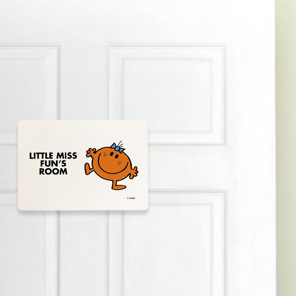 Little Miss Fun Door Plaque (Lifestyle)