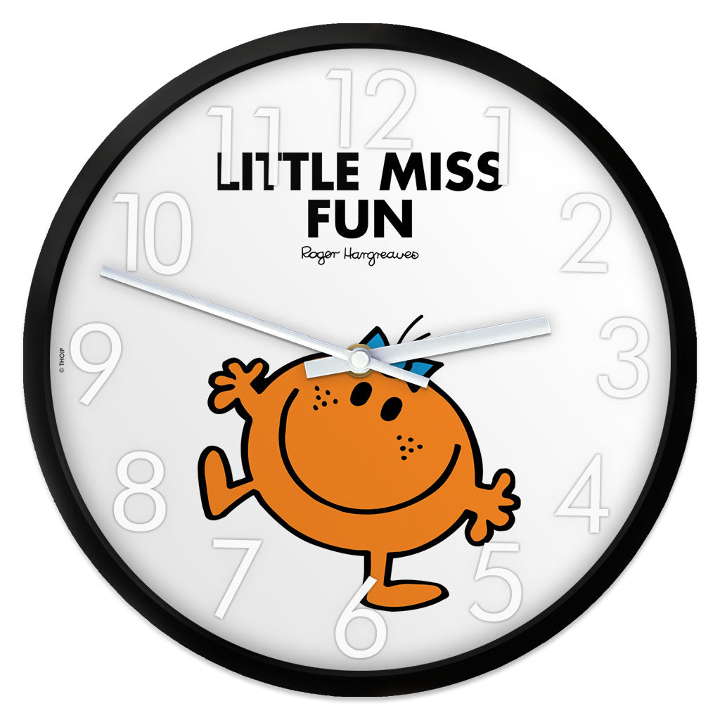 Little Miss Fun Personalised Clock