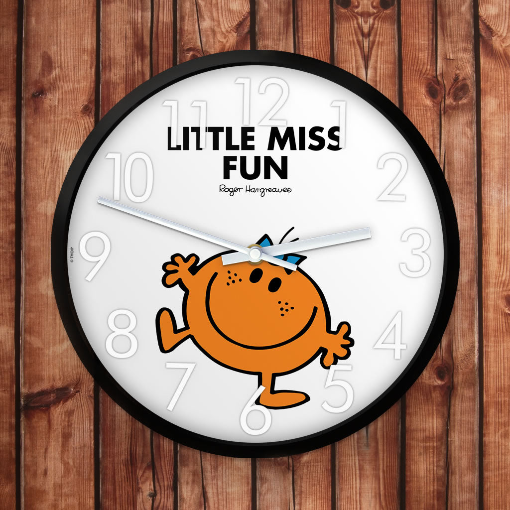 Little Miss Fun Personalised Clock (Lifestyle)