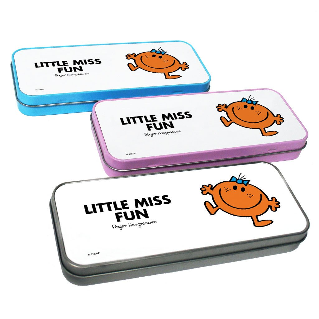 Little Miss Fun Pencil Case Tin