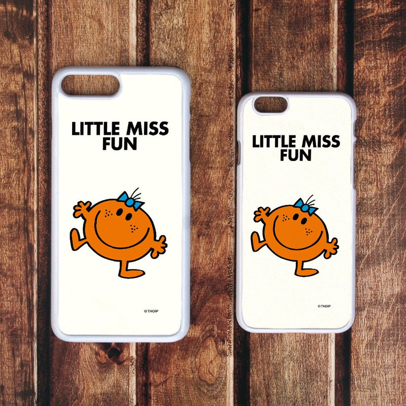 Little Miss Fun White Phone Case (Lifestyle)