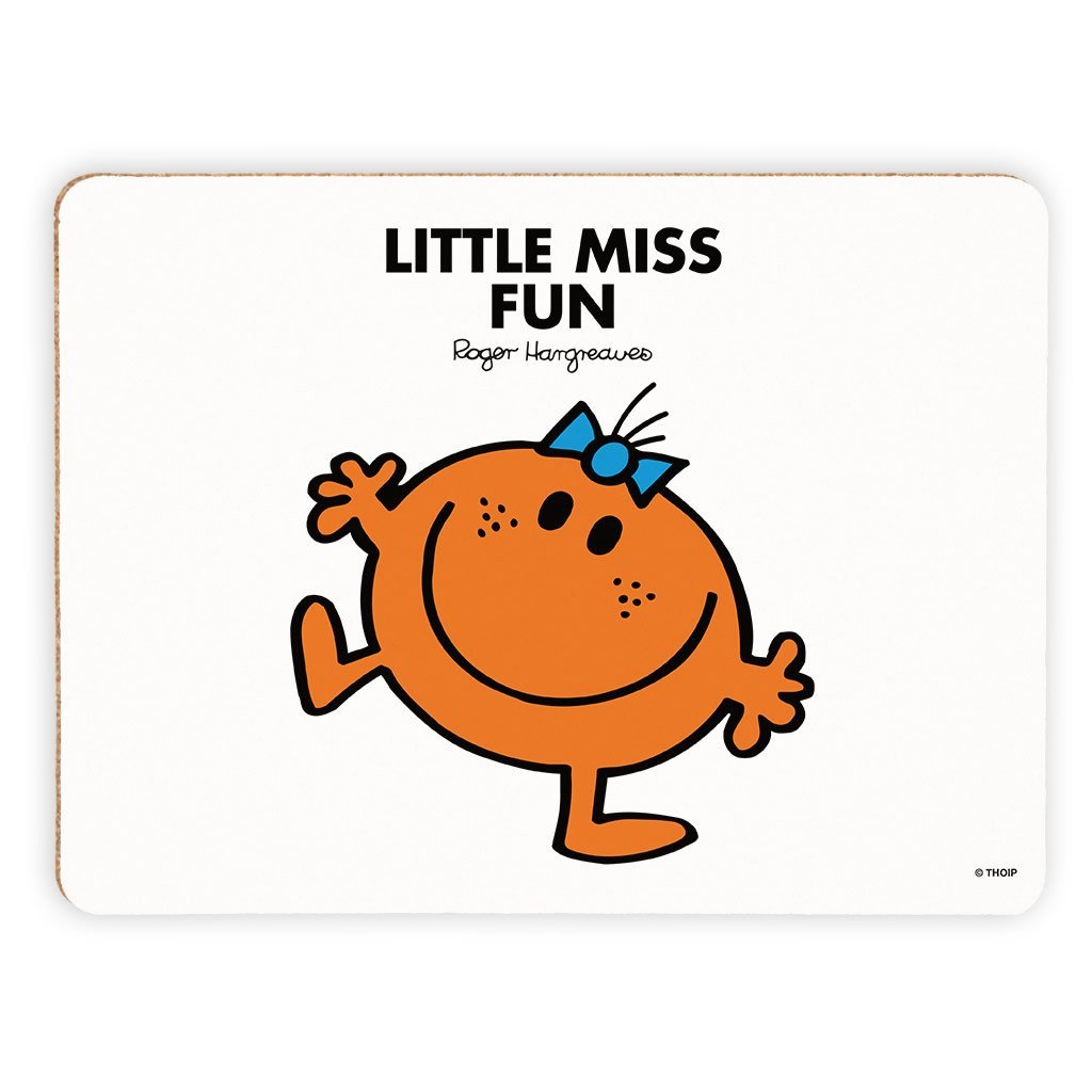 Little Miss Fun Cork Placemat