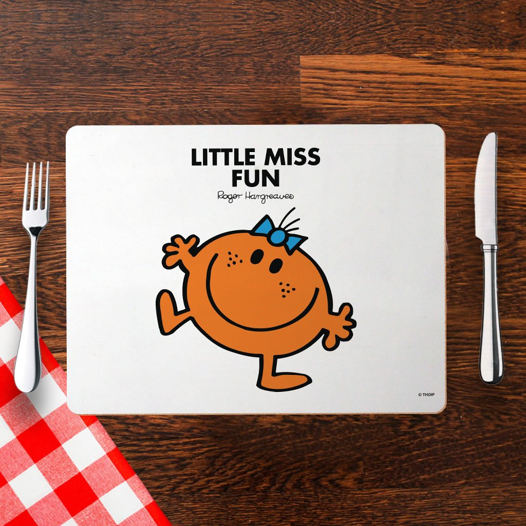 Little Miss Fun Cork Placemat (Lifestyle)