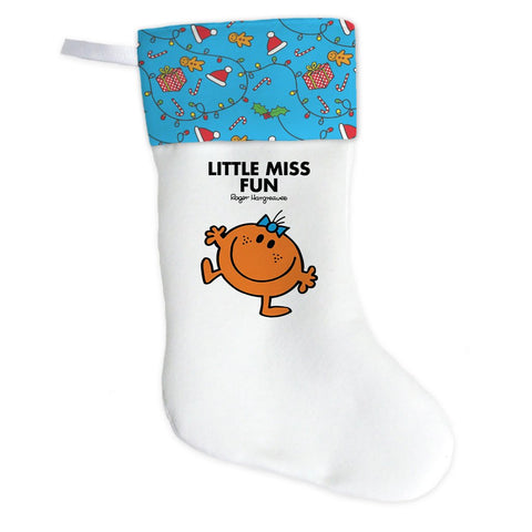 Little Miss Fun Christmas Stocking (Front)