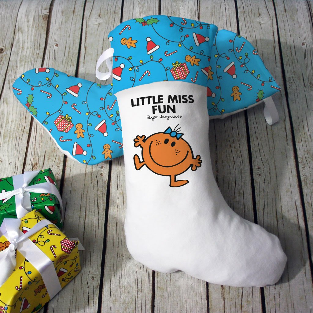 Little Miss Fun Christmas Stocking (Lifestyle)
