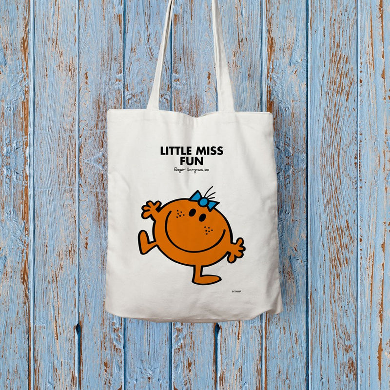 Little Miss Fun Long Handled Tote Bag (Lifestyle)