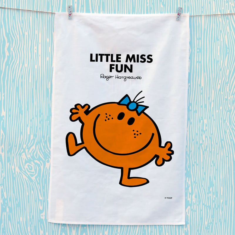 Little Miss Fun Tea Towel (Lifestyle)