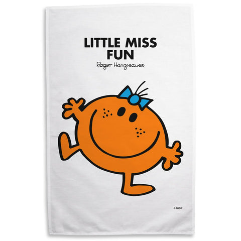 Little Miss Fun Tea Towel