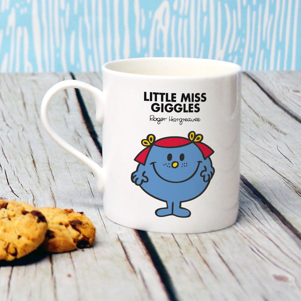 Little Miss Giggles Bone China Mug (Lifestyle)