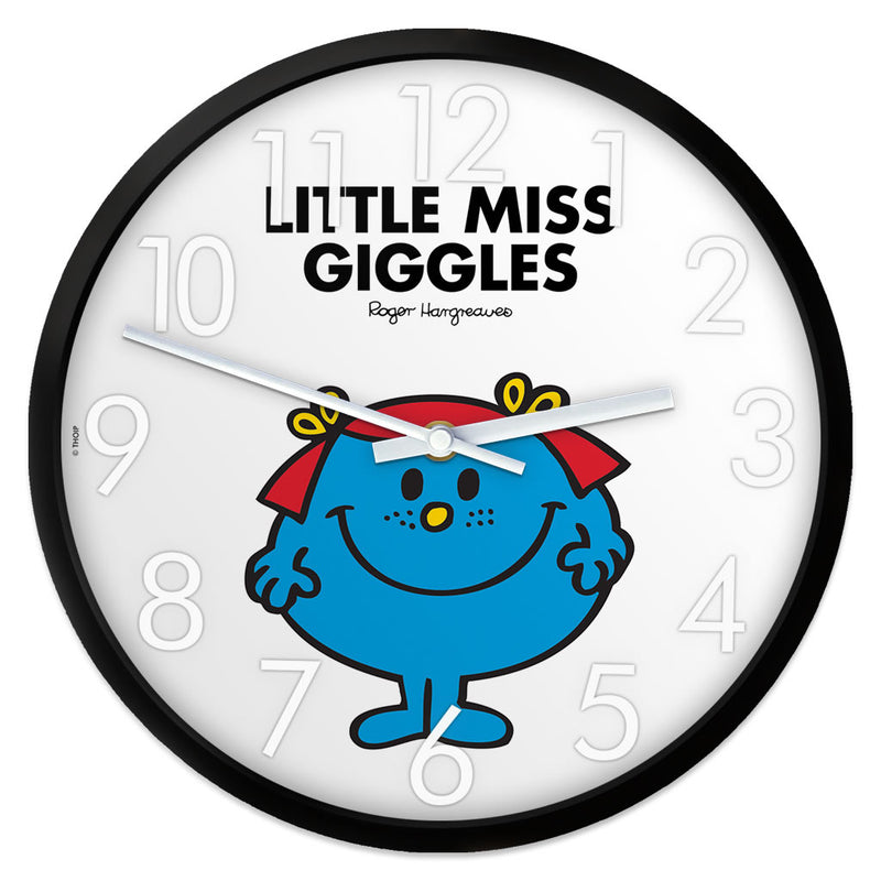 Little Miss Giggles Personalised Clock