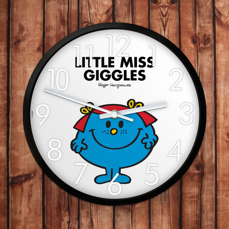 Little Miss Giggles Personalised Clock (Lifestyle)