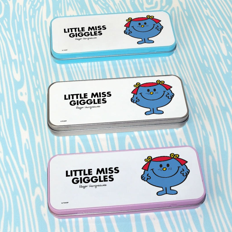 Little Miss Giggles Pencil Case Tin (Lifestyle)