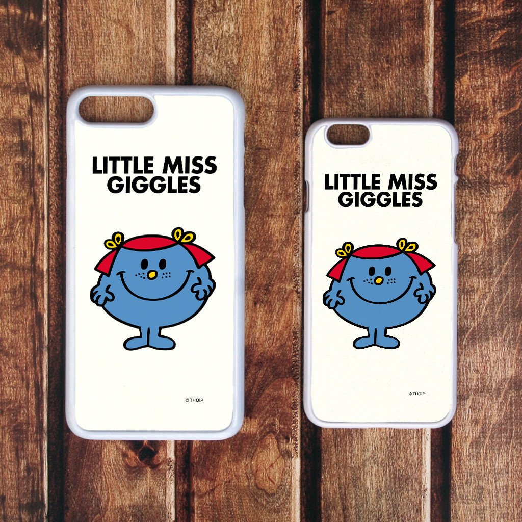 Little Miss Giggles White Phone Case (Lifestyle)