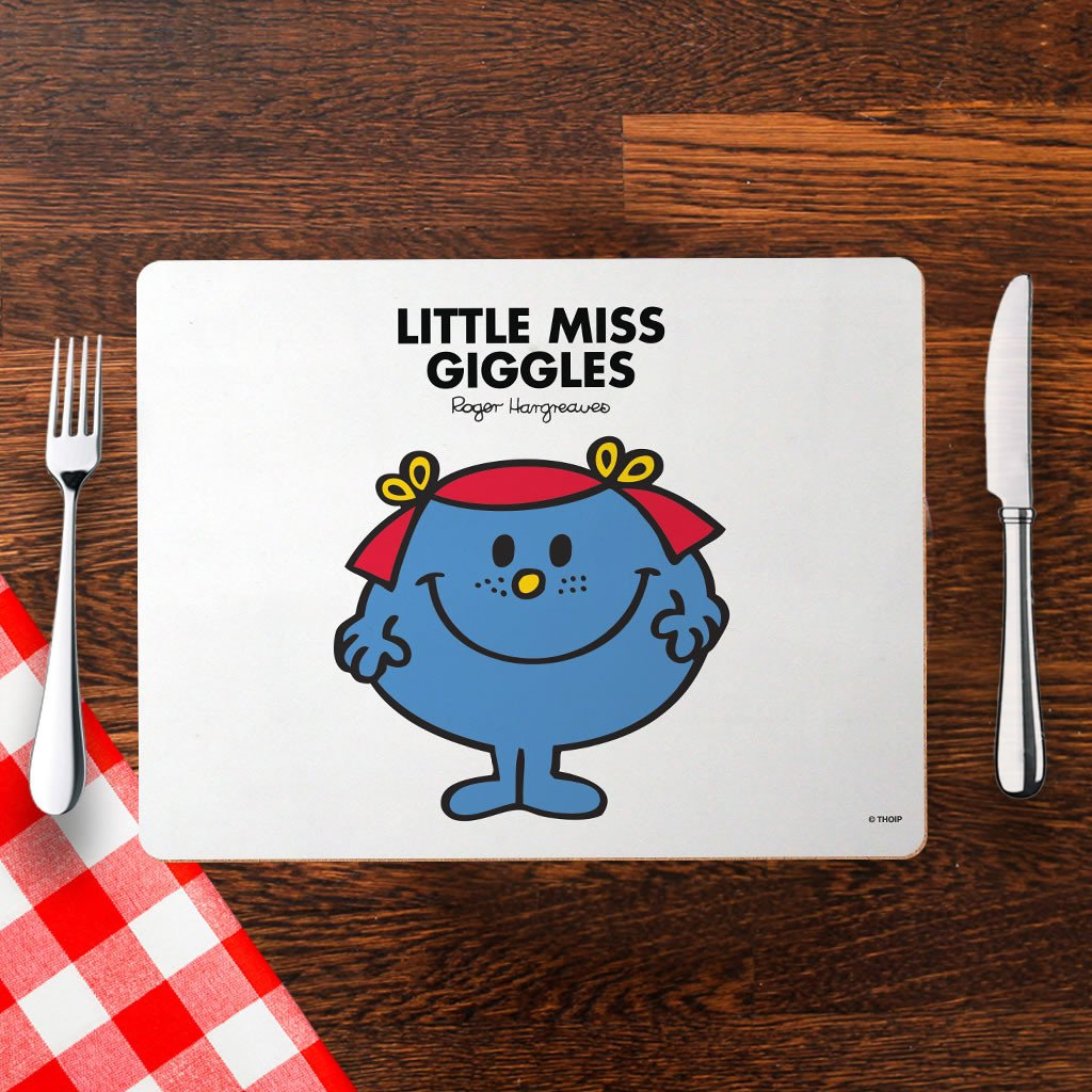 Little Miss Giggles Cork Placemat (Lifestyle)