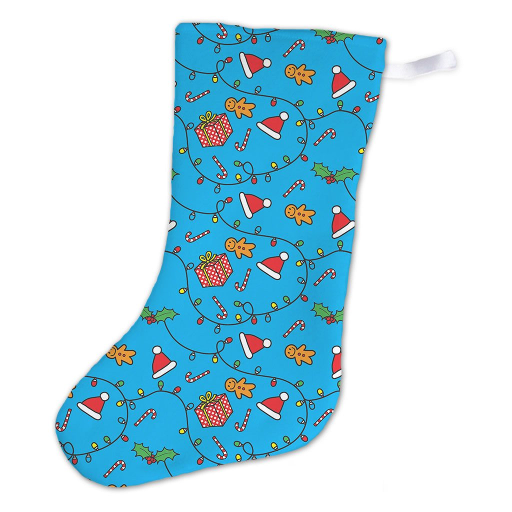 Little Miss Giggles Christmas Stocking (Back)