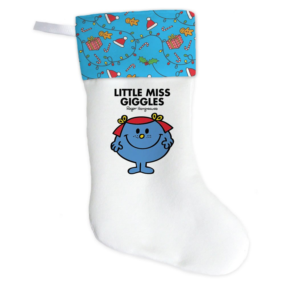 Little Miss Giggles Christmas Stocking (Front)