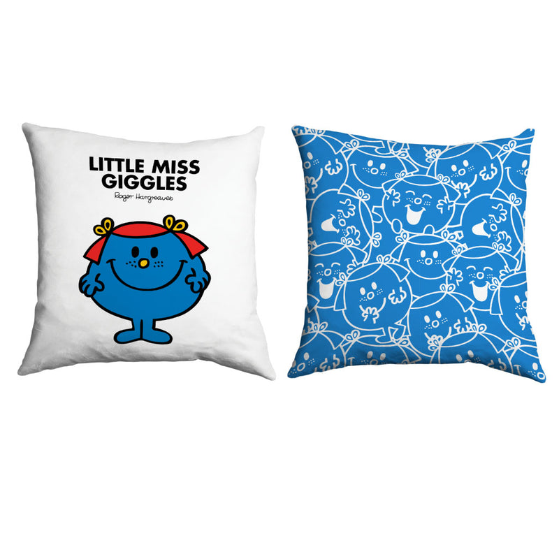 Little Miss Giggles Micro Fibre Cushion