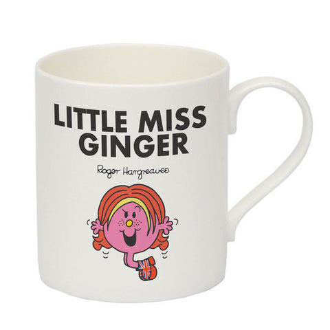 Little Miss Ginger Bone China Mug