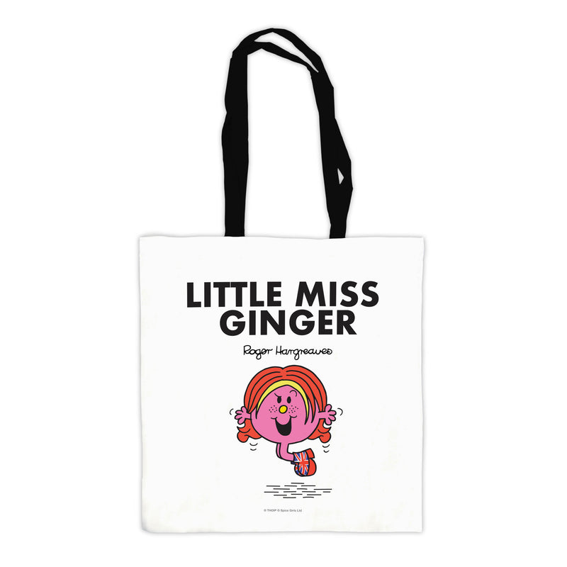 Little Miss Ginger Tote Bag
