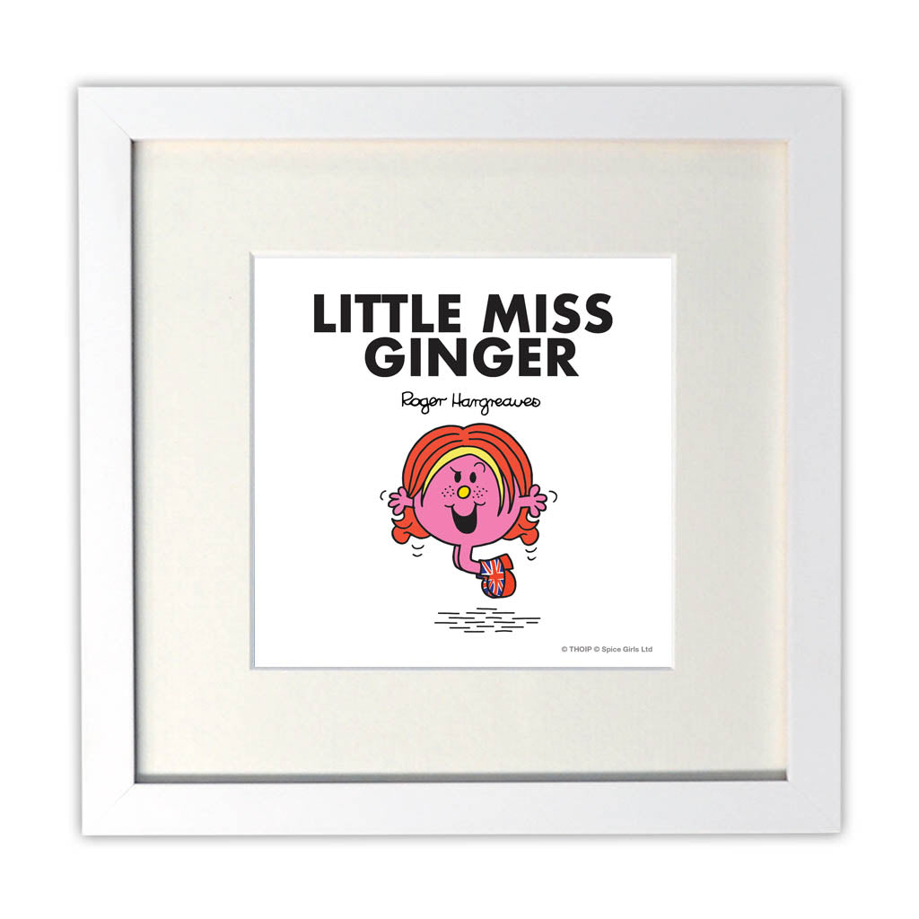 Little Miss Ginger Art Print