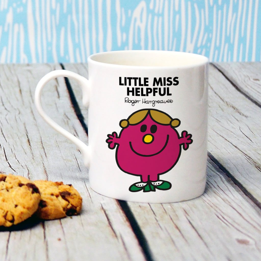 Little Miss Helpful Bone China Mug (Lifestyle)
