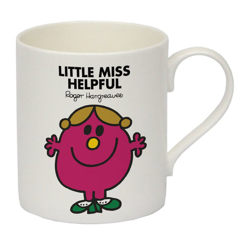 Little Miss Helpful Bone China Mug