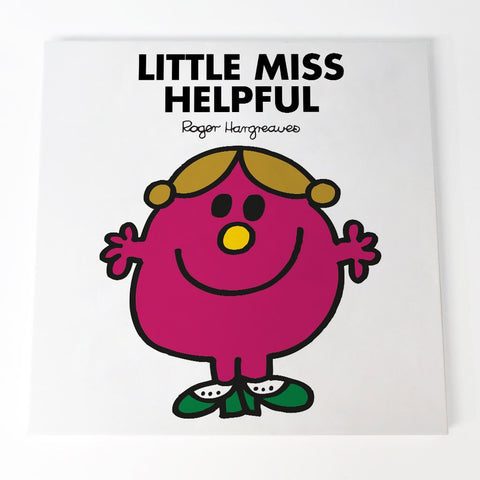 Little Miss Helpful Canvas