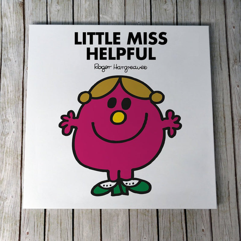 Little Miss Helpful Canvas (Lifestyle)
