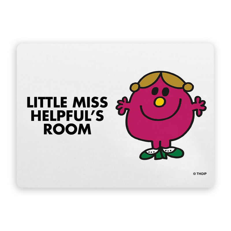 Little Miss Helpful Door Plaque