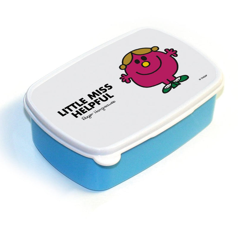Little Miss Helpful Lunchbox (Blue)