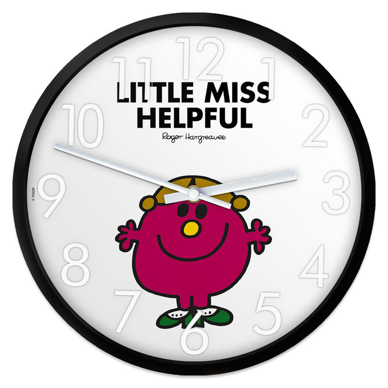 Little Miss Helpful Personalised Clock