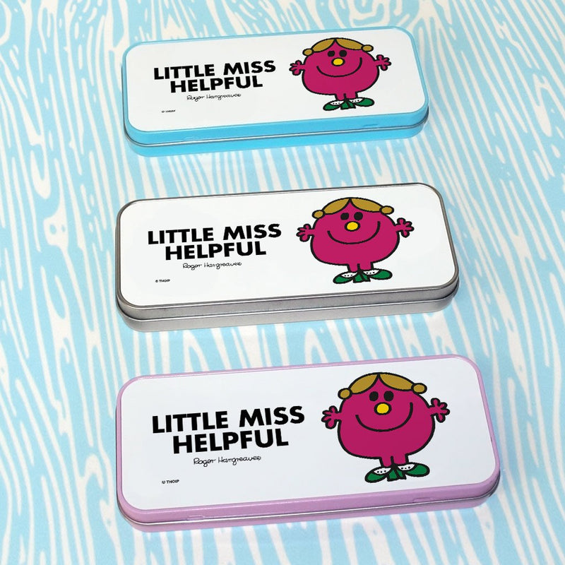 Little Miss Helpful Pencil Case Tin (Lifestyle)