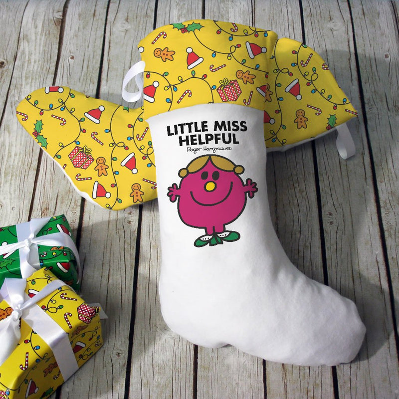 Little Miss Helpful Christmas Stocking (Lifestyle)